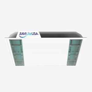 UV-C Air Sanitation Lights for Occupied Areas